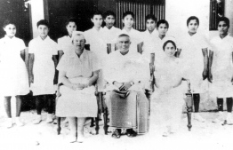 The first batch of Maldivian nurses trained by the WHO. PHOTO/WHO MALDIVES