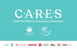 Child Aid Relief in Emergency Situations (CARES), launched by ARC and FLC, to provide food relief to families with children affected by the COVID-19 crisis. IMAGE/CARES
