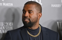 (FILES) In this file photo US rapper Kanye West attends the WSJ Magazine 2019 Innovator Awards at MOMA on November 6, 2019 in New York City. Famous US rapper Kanye West is now worth $1.3 billion and has joined Forbes business magazine's prestigious list of billionaires, thanks to his shoe brand developed with Adidas, the business magazine announced on April 24. Angela Weiss / AFP