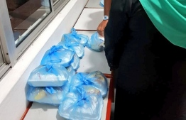 Gender ministry organizing food packages to be delivered by police officers to those who can no longer meet the rising living expenses, amid the ongoing health crisis. PHOTO: MINISTRY