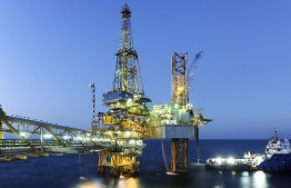 An offshore oil rig managed by Total. PHOTO: TOTAL
