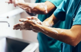 """World Health Organisation (WHO)  partners with the Year of the Nurse and the Midwife declared for 2020 on World Hand Hygiene Day with the theme """"Nurses and midwives, clean care is in your hands!"""". PHOTO: WHO"""