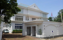The High Commission of Maldives in Colombo, Sri Lanka. PHOTO/MALDIVIAN HIGH COMMISSION, SRI LANKA