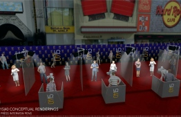 """This handout image released courtesy of 15