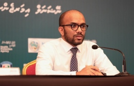 Minister of Finance Ibrahim Ameer. PHOTO: PRESIDENT'S OFFICE