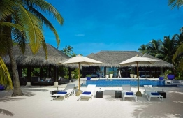 An outdoor area at Velaa Island Resort. PHOTO: VELAA ISLAND RESORT