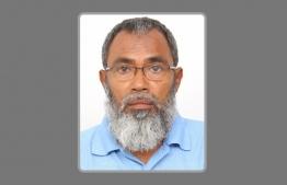 The man identified as 55-year-old Mohamed Nasrullah from Buchaage, Faresmaathodaa, Gaafu Dhaalu Atoll. PHOTO: MALDIVES POLICE SERVICE