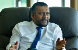 Economic Minister Fayyaz Ismail has been temporarily designated to head the Ministry of Communications. PHOTO/MIHAARU