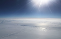 The South Pole Is Warming Three Times Faster Than the Rest of Earth. PHOTO/Mario Tama (Getty)