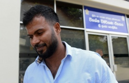 Upul Tharanga, a Sri Lankan cricketer in the the 2011 World Cup squad, leaves the Special Investigation Unit in Colombo on July 1, 2020. - Sri Lanka's chief cricket selector for the 2011 cricket World Cup was grilled for six hours at the start of a criminal investigation into match fixing, a detective said on June 30. Former Sri Lanka skipper and the chief selector, Aravinda de Silva, was the first to be interviewed by the newly established sports-related anti-corruption unit, its Superintendent Jagath Fonseka said. (Photo by LAKRUWAN WANNIARACHCHI / AFP)