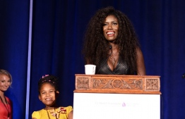 (FILES) In this file photo taken on June 20, 2016  Global Marketing Manager at iTunes Bozoma Saint John attends the Women of Influence Awards at The Wilshire Ebell Theatre in Los Angeles, California. - Netflix has named as its new marketing chief tech industry veteran Bozoma Saint John, who becomes one of the few black women in the top executive ranks in Silicon Valley. (Photo by Matt Winkelmeyer / GETTY IMAGES NORTH AMERICA / AFP)