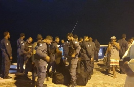 Maldives Police Service is preparing to board the island and deescalate the situation after roughly 200 expatriate workers took 15 Maldivians hostage over unpaid wages.