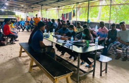 Public Interest Law Centre (PILC) has pledged to provide pro-bono legal aid to migrant workers employed for the development of Bodufinolhu, Baa Atoll. PHOTO: PILC