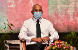 President Ibrahim Mohamed Solih has announced the formation of ICAM under the Maldives Chartered Accountants Bill. PHOTO: AHMED AWSHAN ILYAS/ MIHAARU