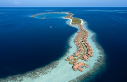 The Waldorf Astoria Resort located in Ithaafushi, Maldives. The island nation is currently at the third place for the World's Leading Destination. PHOTO: MIHAARU FILES