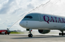 """Qatar Airways has described 2019-2020 as """"one of the most difficult years in the airline's history"""". PHOTO: NISHAN ALI / MIHAARU"""