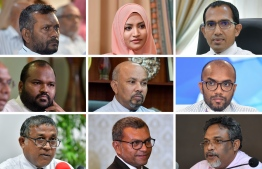 Minister of State for Tourism Dr Ahmed Solih's legal team requested witness testimonials from various  Cabinet Ministers on the Cabinet's 'Economic Council'. PHOTO: VARIOUS / MIHAARU