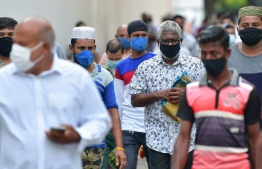 Health Protection Agency (HPA) has made wearing masks in public places a mandatory practice and requests all individuals to maintain at least three feet of social distancing. PHOTO: MIHAARU