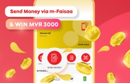 Ooredoo Maldives is offering customers a chance to win MVR 3000 for customers that use it's digital payment platform 'm-Faisaa' to send money to five unique digital wallets. PHOTO: OOREDOO MALDIVES