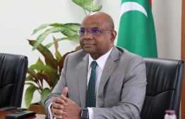 Foreign Minister Abdulla Shahid. PHOTO/FOREIGN MINISTRY