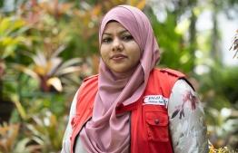 Maldivian Red Crescent (MRC) Secretary General Fathimath Himya. PHOTO: MALDIVIAN RED CRESCENT