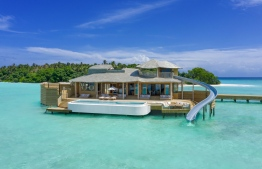 One of the recently unveiled Water Retreats. PHOTO: SONEVA FUSHI