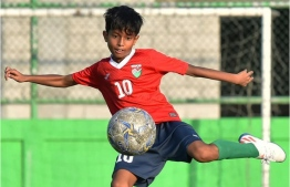 Talented football player of the national team's under-12 elite pool, Ethan Ibrahim Zaki. PHOTO: FACEBOOK