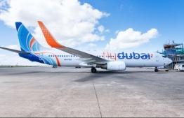 An aircraft of FlyDubai. The aircraft will commence flights between Dubai and Israel this month. PHOTO: FLYDUBAI
