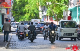 A street of Malé City. The largest number of COVID-19 cases were recorded in the capital. PHOTO: MIHAARU