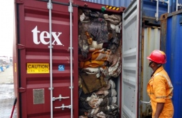 Sri Lanka shipped over 20 containers with over 260 tonnes of rubbish back to the United Kingdom. PHOTO: AFP