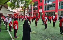 Schools across the greater Male' Region will resume teaching for all grades from grade 7 and above after October 25. PHOTO: MINISTRY OF EDUCATION