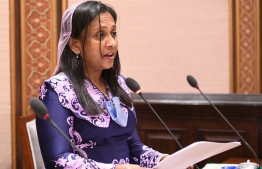 Zaha Waheed, Minister of Fisheries and Agriculture responds to questions from MPs at Majlis: details about her transfer to the President's Office are not known yet