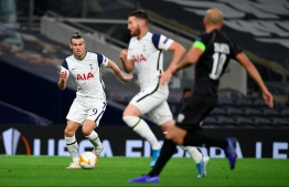 """Gareth Bale said it felt good to be """"loved and appreciated"""" after helping Tottenham to a 3-0 win over LASK of Austria in the Europa League on October 22, 2020. PHOTO/AFP"""