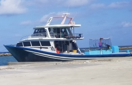 The vessel 'Faskuri' was hijacked by armed youth. PHOTO: MIHAARU FILES