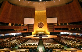 The United Nations (UN)'s General Assembly hall in New York City, USA. PHOTO: PATRICK GRUBAN / FLICKR