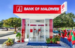 The Self Service Banking Centre in Ukulhas, Alif Alif Atoll. PHOTO: BANK OF MALDIVES