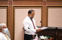 Home Minister Imran Abdulla-Majlis-Majilis