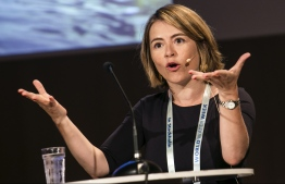 Catarina de Albuquerque, the Chief Executive Officer of Sanitation and Water for All (SWA) - a global partnership to achieve universal access to clean water & adequate sanitation. PHOTO/SWA