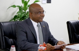 Minister of Foreign Affairs Abdulla Shahid. PHOTO: FOREIGN MINISTRY