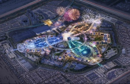 Illustration depicting the layout planned for the World EXPO 2020 event that will take place in 2021, at Dubai, UAE. PHOTO: EXPO2020