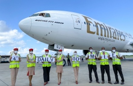 Emirates increased operations to four daily flights to Maldives for the holiday season from December 2020 through January 2021. PHOTO/EMIRATES