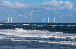 Teesside Wind Farm, or alternatively referred to as Redcar Wind Farm, is a 27 turbine 62 MW capacity offshore wind farm constructed just to the east of the mouth of the River Tees and 1.5 km north of Redcar off the North Yorkshire coast, in the North Sea, England. PHOTO: EDIE.NET