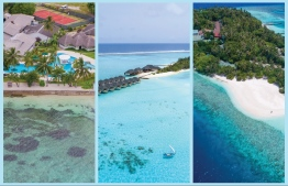 From left to right: Pictured above are three of Kaimoo properties in Maldives, Equator Village in Addu Atoll, Summer Island Maldives in North Male' Atoll and Embudu Village Maldives in South Male' Atoll. PHOTO: KAIMOO / THE EDITION