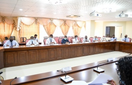 A photograph taken at the session held by the Parliamentary Committee on Environment and Climate Change. PHOTO: PARLIAMENT