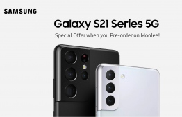 Ooredoo Maldives opened pre-orders for Samsung Galaxy S21+ and S21+ Ultra on January 21, 2021. PHOTO/OOREDOO