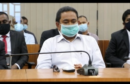 Former president Yameen's trial at High Court