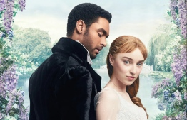 Bridgerton is an American streaming television period drama series created by Chris Van Dusen and produced by Shonda Rhimes. It is based on the popular book series written by Julia Quinn. PHOTO: NETFLIX / POSTER