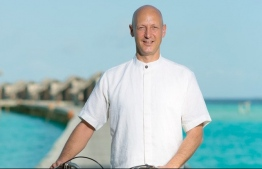David Stepetic, the General Manager of Gili Lanakanfushi Maldives resort in Kaafu Atoll. PHOTO: MIHAARU
