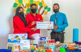 BML donates educational tools to aid SEN classes in 10 schools. PHOTO: BML