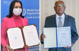 WHO donates laboratory, cold chain equipment to Maldives. PHOTO: WHO